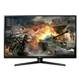 LG 32GK850G-B 32 inch QHD Gaming Monitor with 144Hz Refresh Rate and NVIDIA G-Sync (Renewed) (Color: Black)