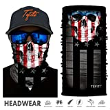 TEFITI Stretchable Face Shield Motorcycle Mask Sun UV Guards Balaclava Headwear (HR040864) (Color: HR040864)