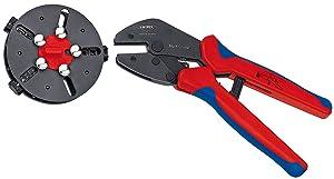 Knipex 97 33 01 MultiCrimp Crimpzange mit Wechselmagazin 250 mm  BaumarktKritiken und weitere Informationen