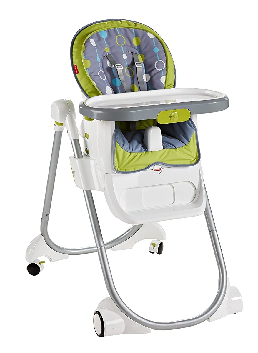 Fisher price 4 in 1 total clean high chair for Chaise 4 en 1 fisher price