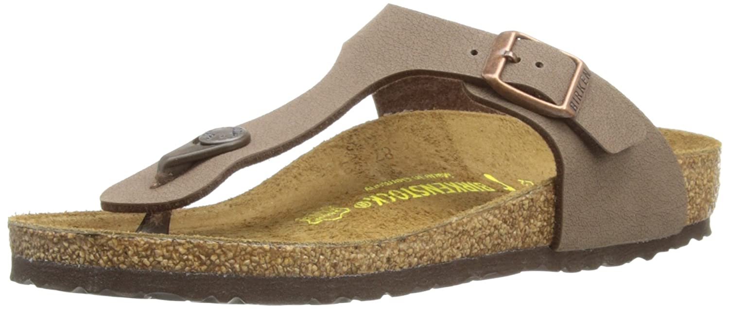 все цены на  Birkenstock Thong ''Gizeh Kinder'' from Birko-Flor in mocca with a narrow insole  в интернете