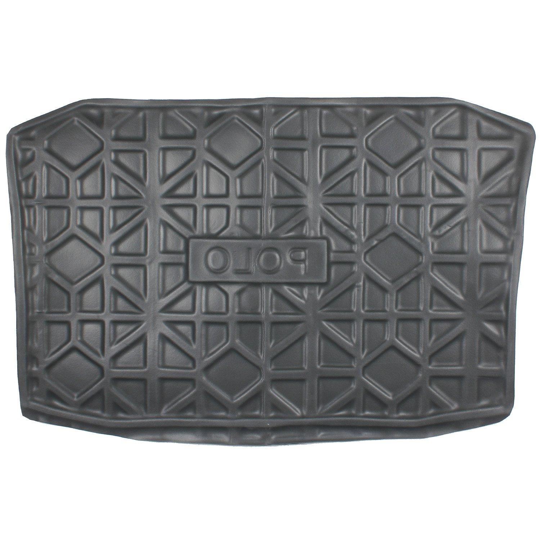 Rubber mats chennai - Elegant Magic Black Rear Boot Mat For Volkswagen Polo Amazon In Car Motorbike