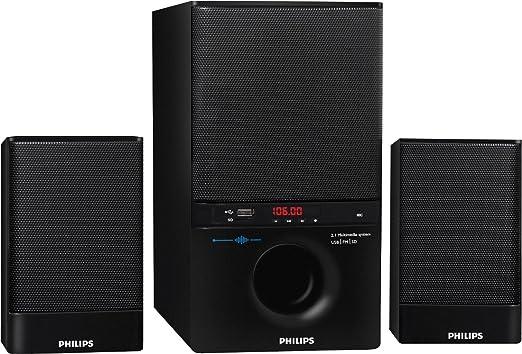 Philips MMS4000R/94 2.1 Multimedia Speaker