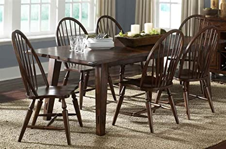 5 Pc Rectangular Dining Table Set