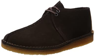 Desert Trek: Dark Brown Suede