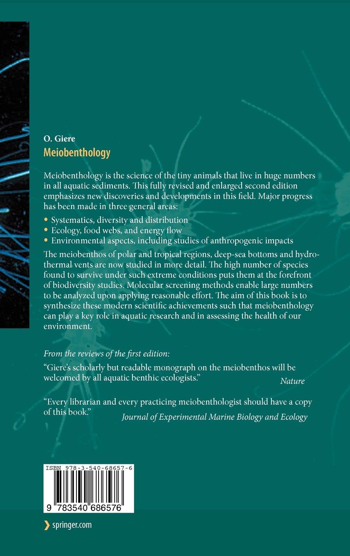 Meiobenthology: The Microscopic Motile Fauna of Aquatic Sediments