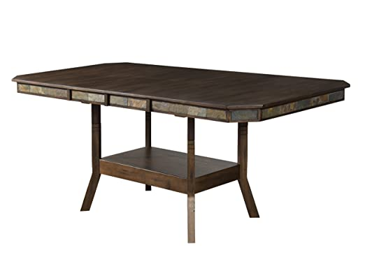 Sunny Designs Savannah Double Butterfly Leaf Counter High Dining Table