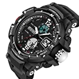 Sinyulin Water Resistance LED Digital Military Sports Watches Digital S SHOCK Wristwatches