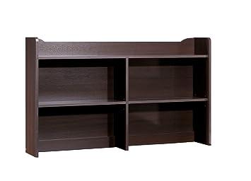 Nexera Pocono Bookcase Hutch, Espresso By Nexera