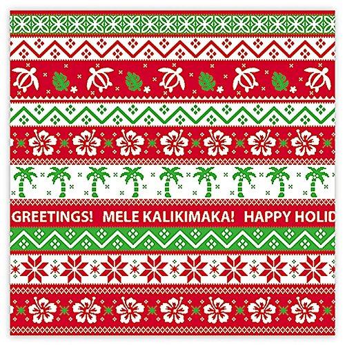 Ugly Sweater Hawaiian Wrap Paper