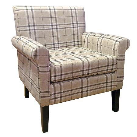 Shankar UK Hamilton Fabric, 80 x 74 x 70 cm, Check