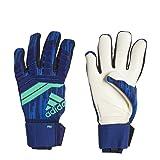adidas Predator 18 Pro Soccer Goalkeeper Gloves (10) (Color: Hi-Res Blue / Unity Ink, Tamaño: 10)