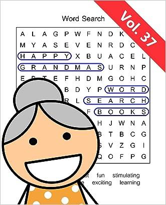 Happy Grandma's Word Search Books: Volume 37