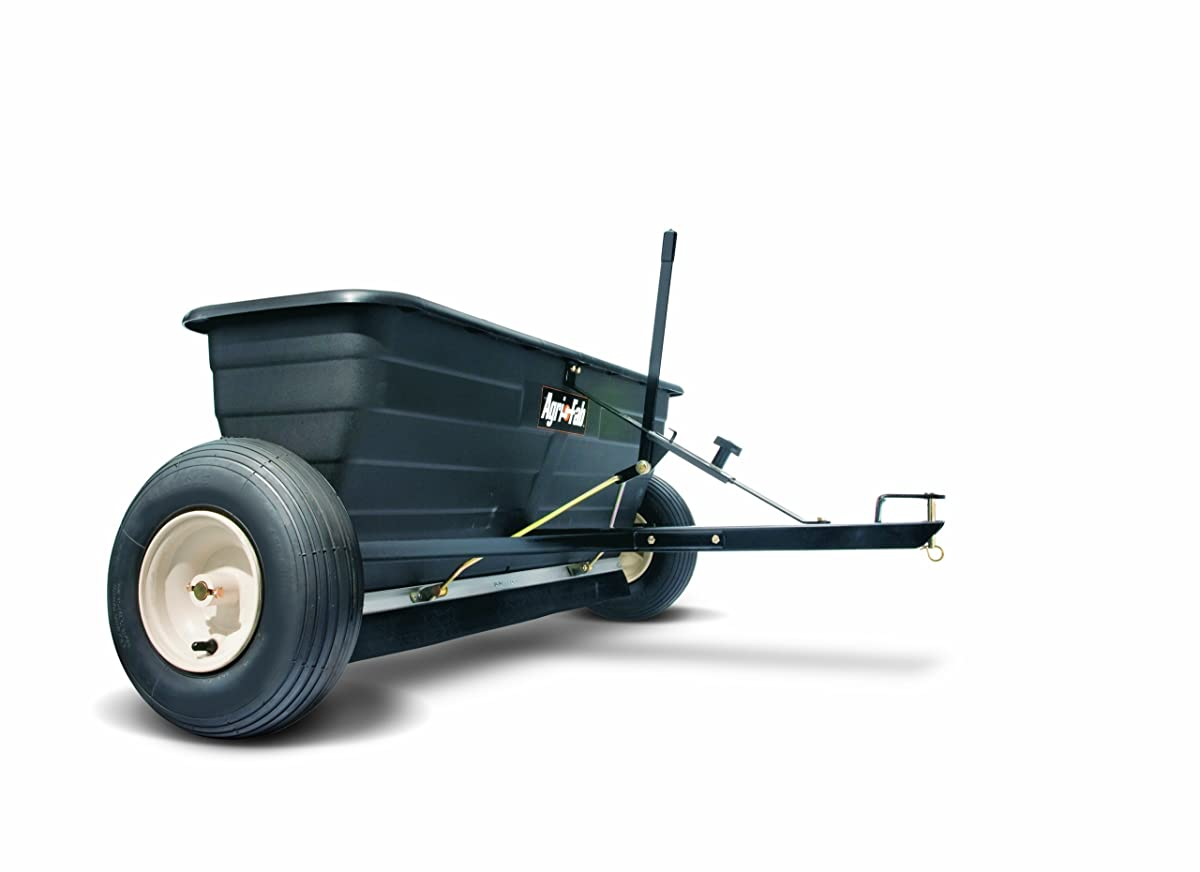 Agri-Fab 45-0288 175-Pound Max Tow Behind Drop Spreader, Black