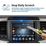 LFOTPP 2013-2018 Dodge Ram 1500 2500 3500 Uconnect 8.4 Inch Audio Touchscreen Display Screen Protector, Tempered Glass Car Navigation Protective Film 9H Anti-Scratch(1 PCS) (Color: 1PCS Glass Protector, Tamaño: 1PCS 8.4-inch Glass)