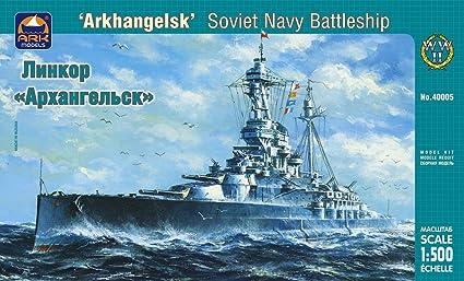 Maquette Arkhangelsk Soviet Navy Battleship