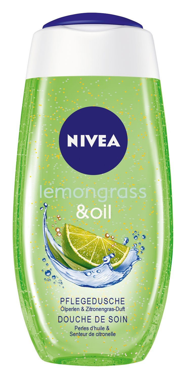 Nivea Lemongrass & Oil Pflegedusche, 4er