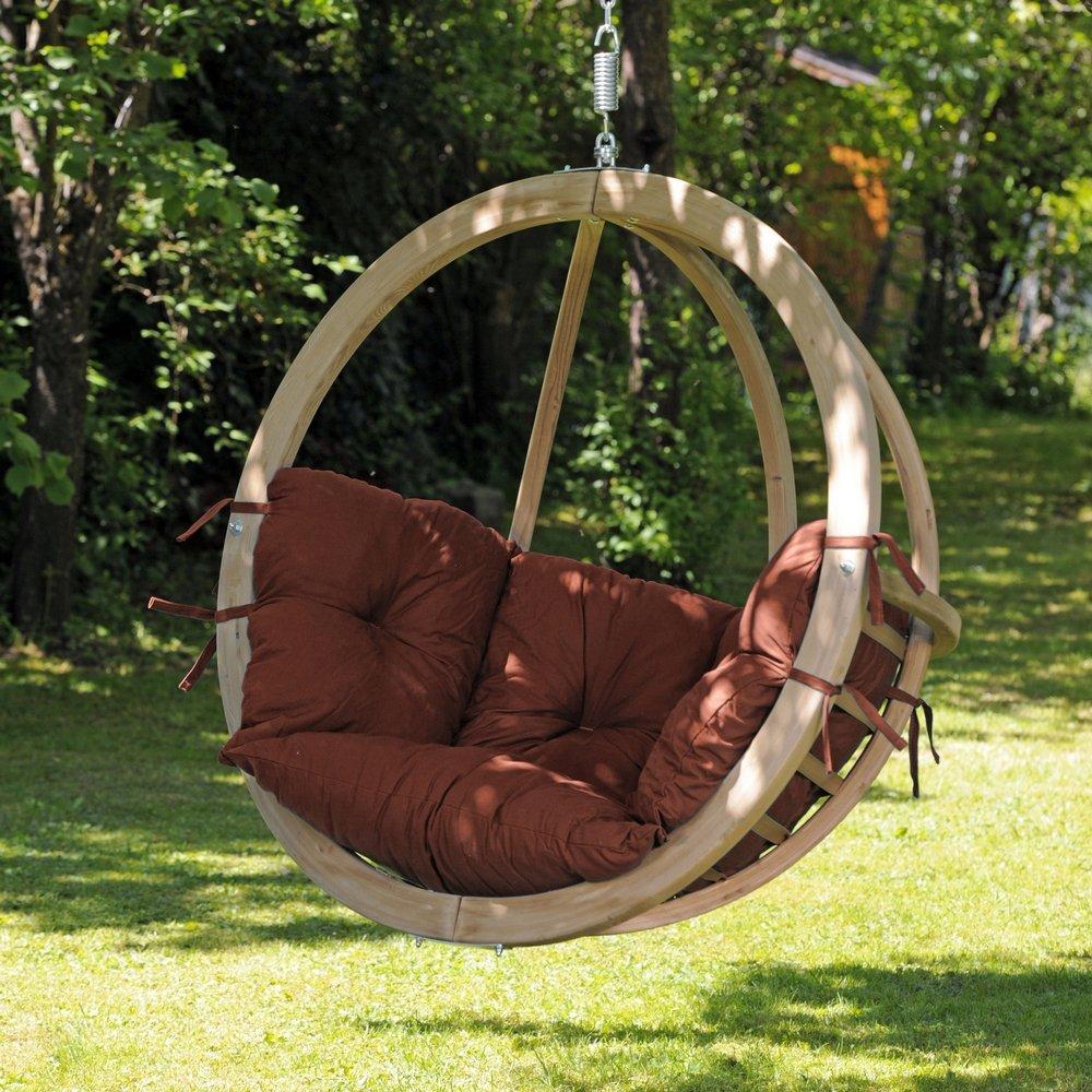 Amazonas Kugelgestell Hängesessel Globo Chair terracotta