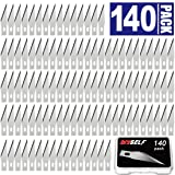 140 PCS Exacto Knife Blades, High Carbon Steel #11 Refill Exacto Art Blades Cutting Tool with Storage Case for Craft, Hobby, Scrapbooking, Stencil (Color: 140pcs #11Blades, Tamaño: 140Pack #11 Blades)