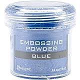 Ranger Embossing Powder, 0.63 Ounce Jar, Blue (Color: Blue)