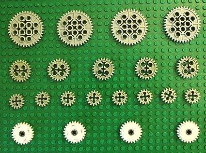 Lego Technic Gears Assortment Pack Lego Technic 21 Pcs Cluch Gear