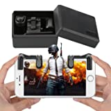 Mobile Game Controller for iOS and Android - Ultra Fast, Move, Aim, and Shoot Simultaneously - Compatible for Fortnite, PUBG, Knives Out, Survival, and iOS Video Gaming – Lock-in Grip, Rapid (Color: Black 3617)