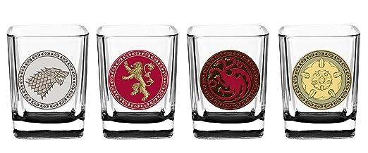Game of Thrones House Sigil Shot Glass Set (Set of 4)