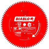 Freud D1084L 10-Inch Diameter 84t TCG Saw Blade with 5/8-Inch Arbor (Tamaño: Pack of 1)