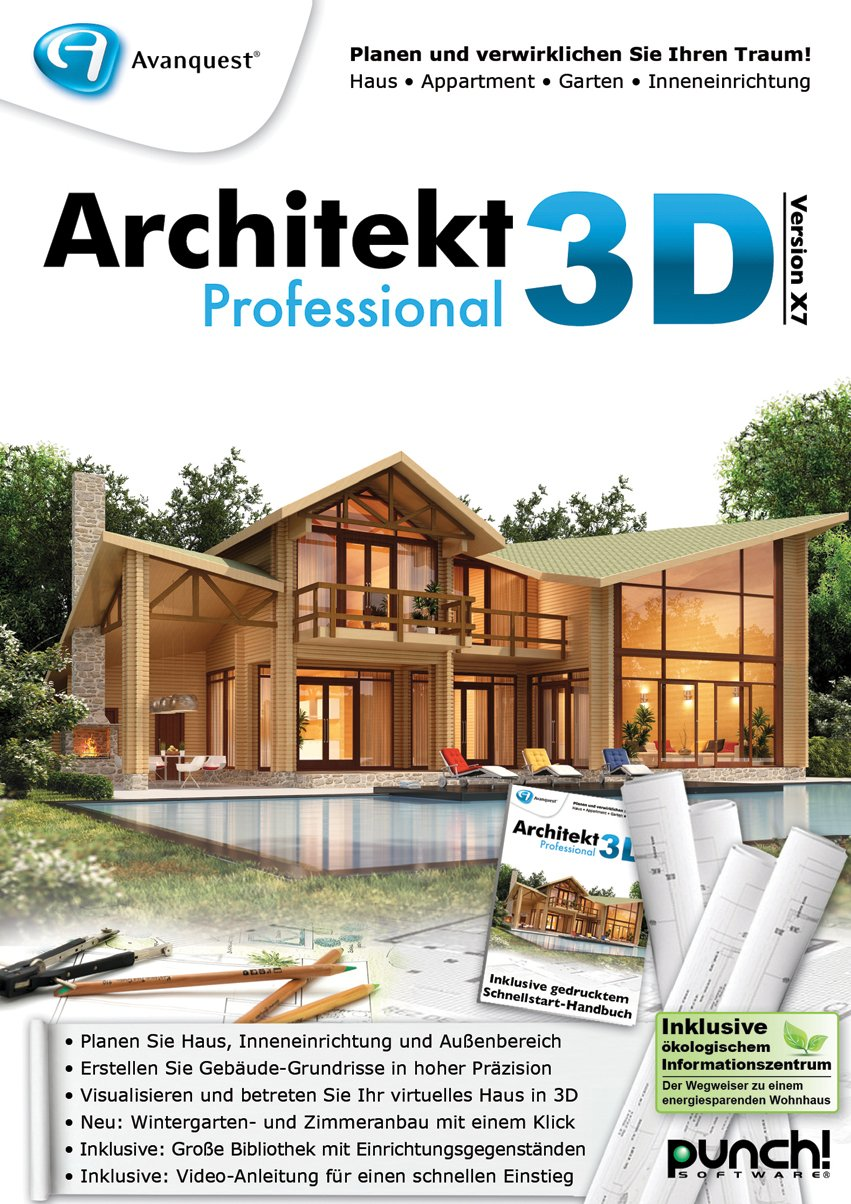 Avanquest Architekt 3D X7 Professional für Windows GRATIS (+4,90 ...