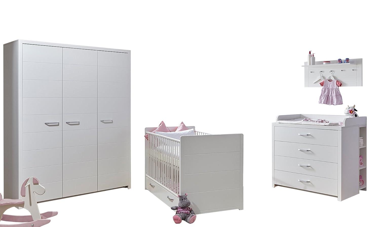 """TICAA Babyzimmer """"Mia"""" 5-teilig Weiß jetzt bestellen"""