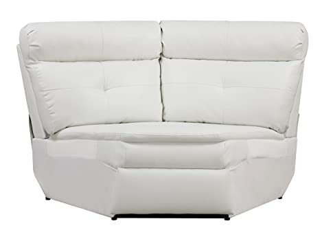 Glory Furniture G577-W Wedge for Sectional Sofa, White