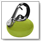 Chantal 1.8-Quart Loop Tea kettle - Lime Green