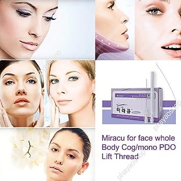 1 Box 25 Pieces Miracu PDO Thread Lift Korea Face Whole Body Cog