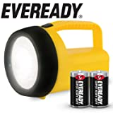 Eveready LED Floating Lantern Flashlight, Battery Powered LED Lanterns for Hurricane Supplies, Survival Kits, Camping Accessories, Power Outages, Batteries Included (Color: Yellow, Tamaño: Floating Lantern: Updated Model)