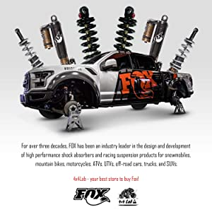 Kit of 4 Fox 2 0 Performance Series IFP Shocks Front 3-4 5
