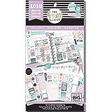 me & my BIG ideas PPSV-111-3048 Happy Planner Sticker Value Pack-Wellness, 1010/Pkg, Multi (Color: Multi)