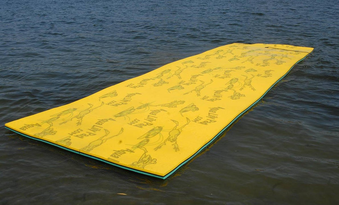 Lilly Pad Floating Mat, Boat Swim Mat Island