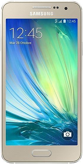 Samsung A300 Smartphone débloqué (Ecran: 4.5 pouces) Or (import Italie)