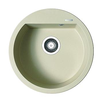 pyramis alazia 51 1b runde einbausp le pyragranite mocha 079810411 dc513. Black Bedroom Furniture Sets. Home Design Ideas
