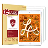 OMOTON [2 Pack] Screen Protector for iPad Mini 5 2019 / iPad Mini 4 - Tempered Glass/Apple Pencil Compatible/Scratch Resistant (Color: Clear)
