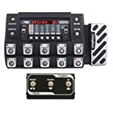 DigiTech RP1000 Modeling Multi FX Modeling Guitar Effects Pedalboard with 160 Internal Stompboxes14 Footswitches, Expression Pedal and USB with DigiTech FS3X Three-Function Foot Switch