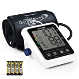 Automatic Blood Pressure Monitor with AFIB Detection, High Accuracy Blood Pressure Machine with 2 Users Mode & 240 Memories, 2.4