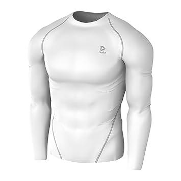 Tesla Mens Compression Performance Sport Top Long Sleeve Shirts R01 ... 20dde8140