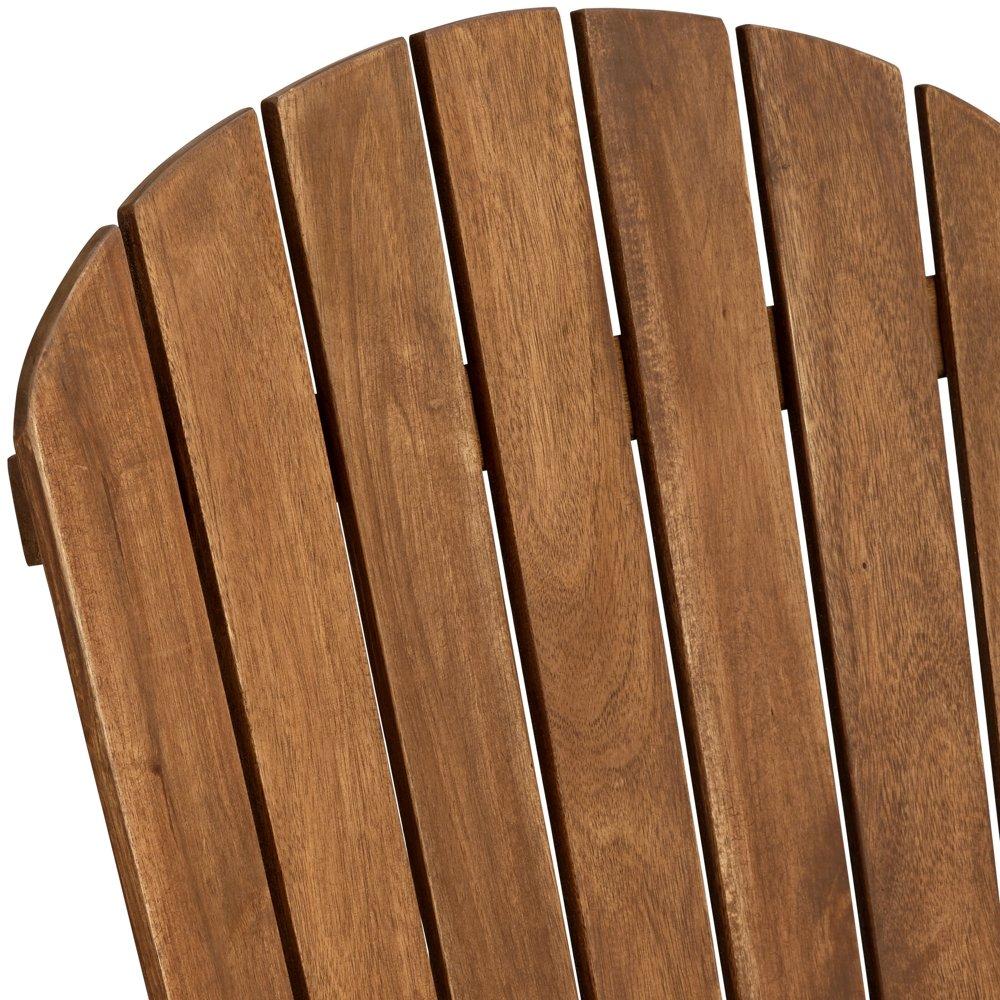 Cape Cod Natural Wood Adirondack Chair