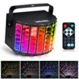 Albrillo LED Party Lights Sound Activated, Stage Lighting 9 Colors with Remote, Disco Lights for Party Festival Bar Club Wedding (Color: DJ Lights)
