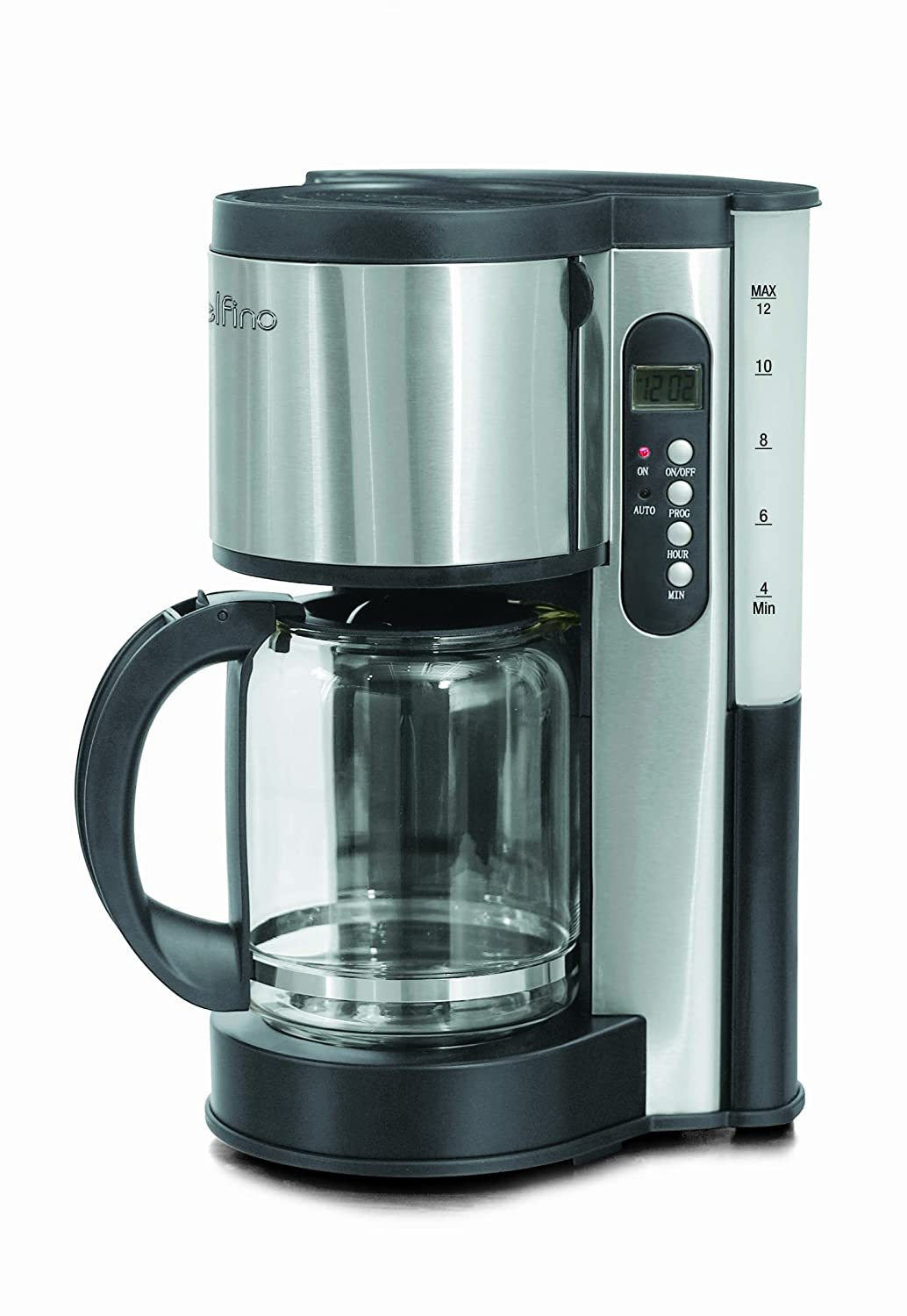 Toastess DLFC381 Coffee Maker, Stainless Steel