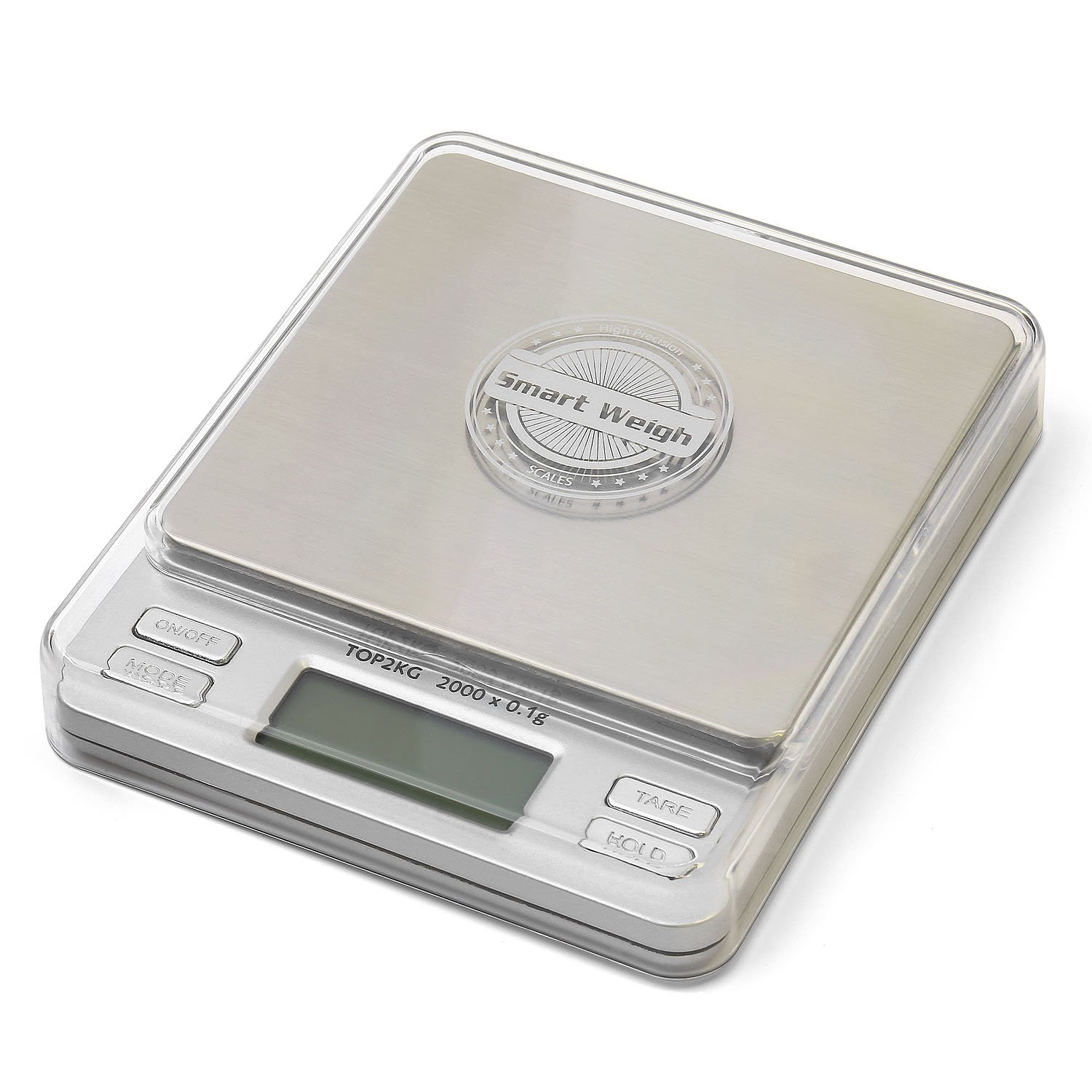 Smart weigh digital pro pocket scale top2kg best for Perfect pro smart scale