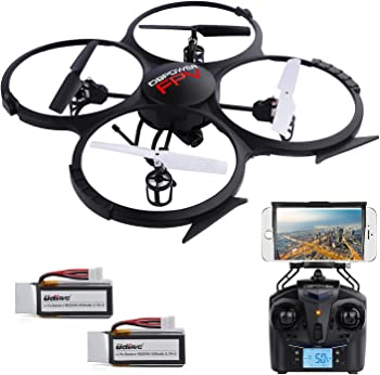DBPOWER U818A Wi-Fi RC Drone