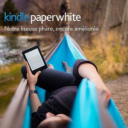 """Kindle Paperwhite, Écran Haute Résolution 6"""" (15 cm) 300 ppp avec éclairage intégré et Wi-Fi - Avec offres spéciales"""
