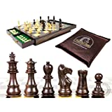 House of Chess - Rosewood / Boxwood Chess Set Pieces Galaxy Staunton 3